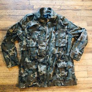 Vintage style camo jacket
